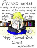 Banned book week by Youkos-wolfpup326