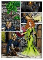 A Viking's Tale Coloured by BraveSirKevin