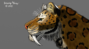 Smilodon- The Sabertooth Restored by Saberrex