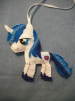 Shining Armor Handmade Felt Ornament 2 by grandmoonma