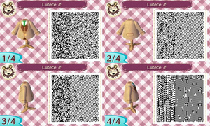 Animal Crossing QR Code Robert Lutece UPDATED CODE by TeaganLouise