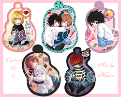 DN - Keychains Set by Hyura