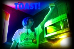 Shh. Not now son I'm making... TOAST by LianZx