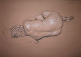 Life Drawing by cjhonline