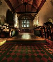 Alfriston Church Alter by wreck-photography