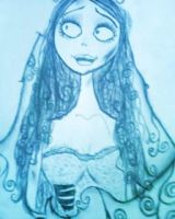 Emily the corpse bride by xjennxox