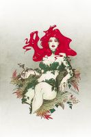 Poison Ivy - Lady of the forest pin-up by croaky