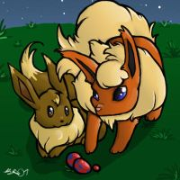 Flareon by SugarBonBonne