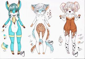 : Pastel Adopts Set : by Chewy-Adopts