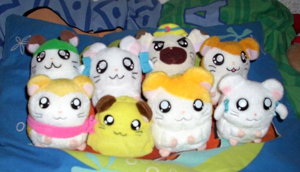 Hamtaro Plush Collection *Update *2 by kratosisy