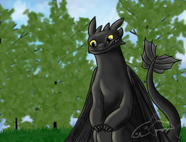 Toothless-Smile by CavySpirit