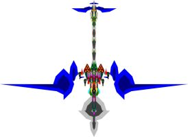 The personal Stingray fighter jet of the M-GAF gra by Chaos-Infection
