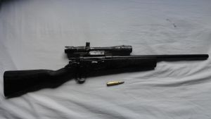 Homemade M30 Sniper Rifle by DrZoidberg96