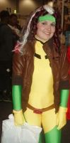 Cosplaying Rogue- X-Men:TAS -2 by raphs-girl
