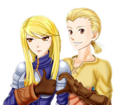 Final Fantasy Tactics - Forever JUST Friends by iforher