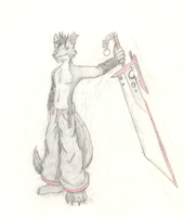 Chaser with sword by ChaserTech