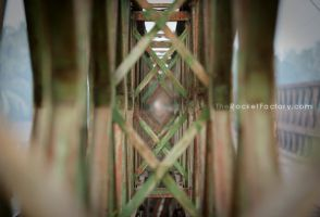 Bridge abstract by frankrizzo