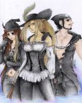 Mianox, Galibaix and Othannyx by X-Seion-X