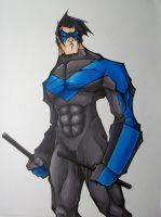 nightwing by mjfletcher