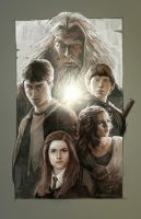 Harry Potter Continues by daveisblue