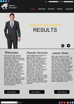 Suit Company Website by TheOfficialConcepts