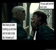 Harry Potter and The Dental Advice by Juliabohemian