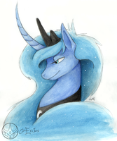 Luna Portrait by Aeritus91