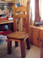Mahogany and Cedar Chair by Sawdust013