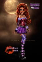 Monster High - Clawdeen Wolf by kharis-art