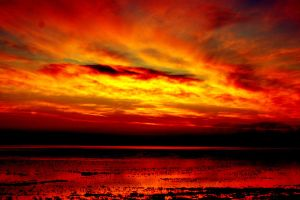 A Bleeding Sky by alexajaye