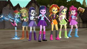 Eqg Warriors by ghostoftime1