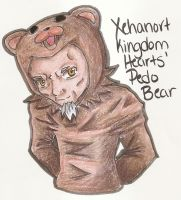 Pedo Bear Xehanort by FeedTheBirds