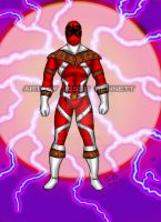 Mighty Morphin Power Rangers Zeo (Super Zeo Red) by blueliberty