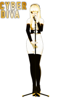 [MMD] Cyber Diva - DL by ginconomp