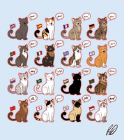 How People Write the Cat's Voice by ArtByRiana