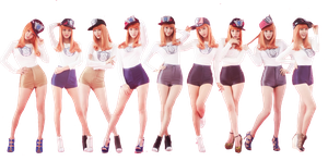 SNSD I Got a Boy Dance Version Render by dearyYamachii