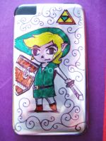 Toon Link on iPod by wolfie6