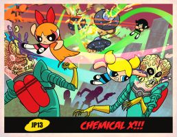 Mars Attacks the Powerpuff Girls! by dyemooch