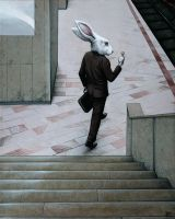 The Subway (Follow the White Rabbit!) by CatalinPrecup