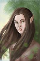 Elf by cahrolzit