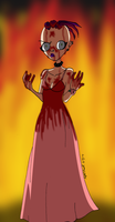 Germaine as Carrie by itanatsu-chan