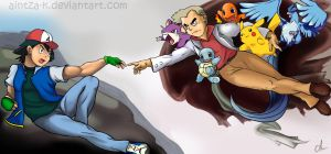 The Creation Of Pokemon by Aintza-K