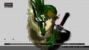 FM5: Link/Wolf vinyl group by Cameron7954