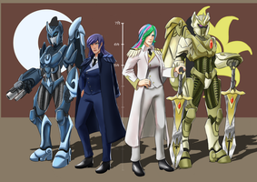 Legion Commanders by smilingDOGZ
