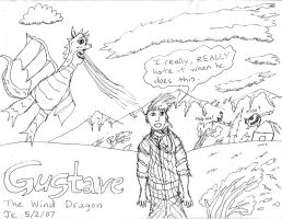 Gustave, the Wind Dragon by VideoWizard2006