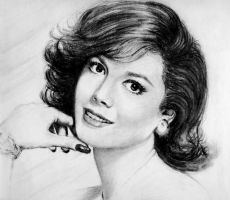 Natalie Wood Portrait 2 by Xenomorph71