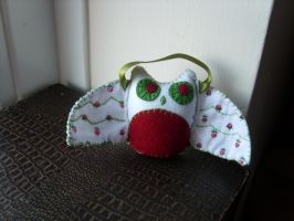 Jingly Owl by HypotheticalTextiles