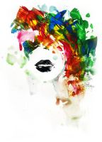 BLACK LIPS by lora-zombie