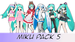 Miku Pack 5 by AlexIsDeadddx