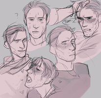 The Many Faces Of Rafe by Pukao